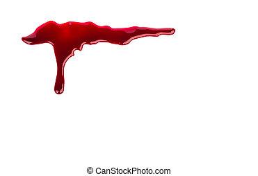 концепция, :, день всех святых, кровь, капающий