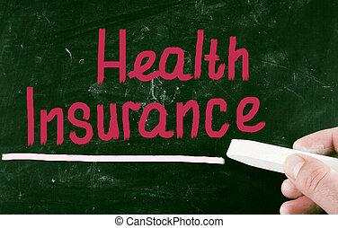 концепция, здоровье, страхование