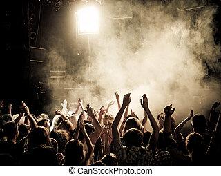 концерт, толпа