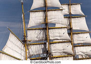 корабль, парусный спорт