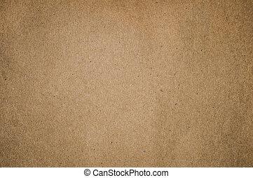 коричневый, бумага, textured, задний план, пустой