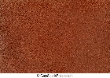коричневый, кожа