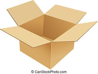 коробка, картон