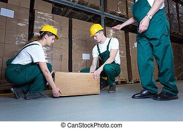 коробка, lifting
