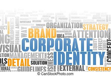 корпоративная, идентичность