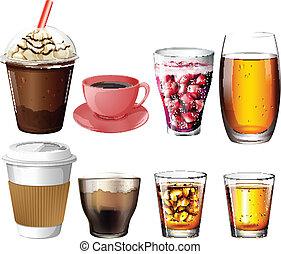 кофе, коктейль, drinks