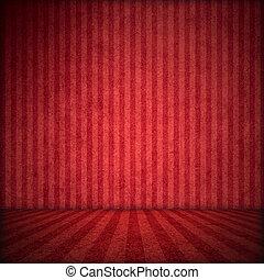 красный, задний план, сцена