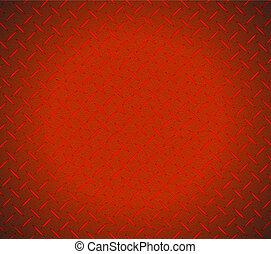 красный, текстура, металлический, дизайн, иллюстрация
