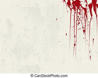 кровь, задний план