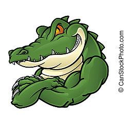 крокодил, талисман