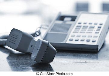 крюк, от, телефон, стол письменный