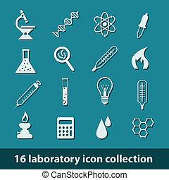 лаборатория, icons