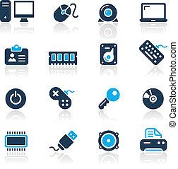 лазурь, компьютер, devices, /, &