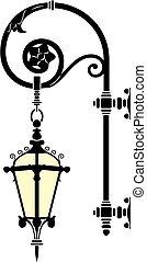 лампа, улица