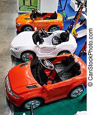 легковые автомобили, игрушка, красочный, магазин