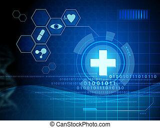 лекарственное средство, интерфейс, цифровой
