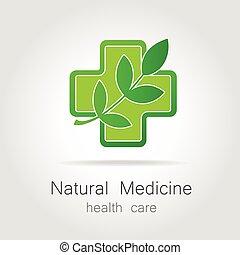 лекарственное средство, логотип, натуральный