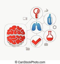лекарственное средство, наклейка, infographic