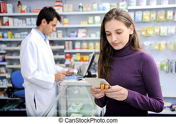 лекарственное средство, потребитель, аптека