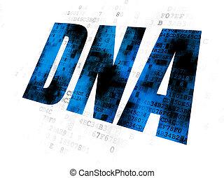лекарственное средство, dna, concept:, задний план, цифровой