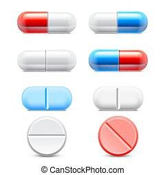 лекарственное средство, pills, коллекция