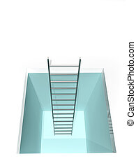 лестница, люк