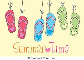 лето, время