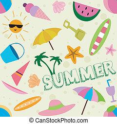 лето, дизайн
