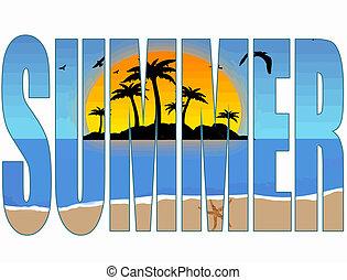 лето, заглавие