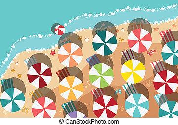 лето, пляж, дизайн, квартира
