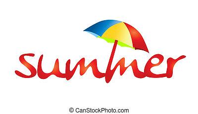 лето, holidays, -, тень, солнце