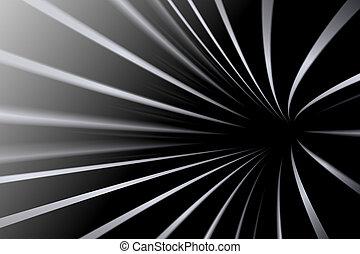 линия, абстрактные, черный, белый, задний план