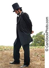 линкольн, авраам, в живых