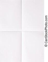 лист, бумага, белый