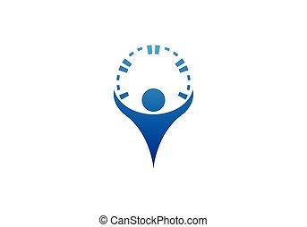 логотип, здоровье, забота