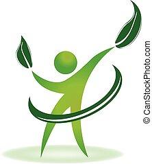 логотип, здоровье, природа