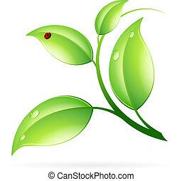 логотип, концепция, экология