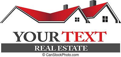 логотип, недвижимость