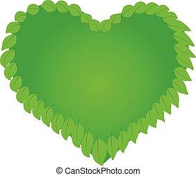 логотип, природа, здоровье, сердце