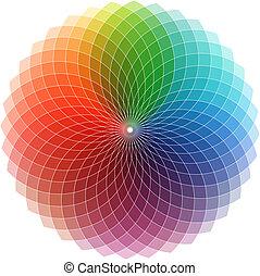 логотип, спектр