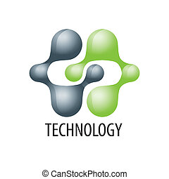 логотип, технологии, форма, atoms