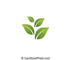 логотип, экология, -, иллюстрация, vectors
