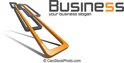 логотип, business.