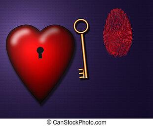 люблю, ключ