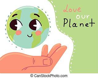 люблю, планета, наш