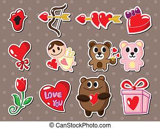 люблю, stickers