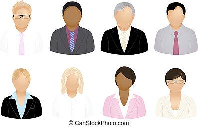 люди, бизнес, icons