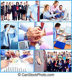 люди, группа, collage., бизнес