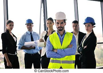 люди, engineers, встреча, бизнес