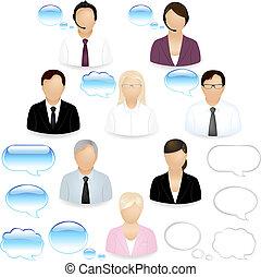 люди, icons, бизнес